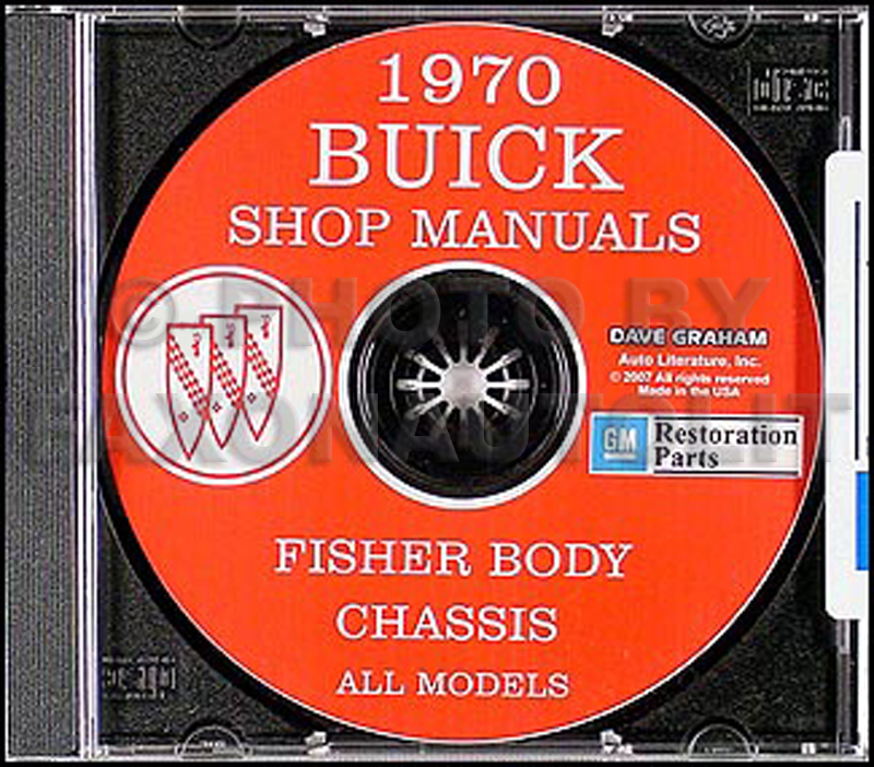 1970 Buick CD-ROM Shop Manual & Body Manual