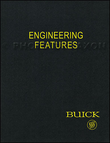 1970 Buick Engineering Features Manual Reprint