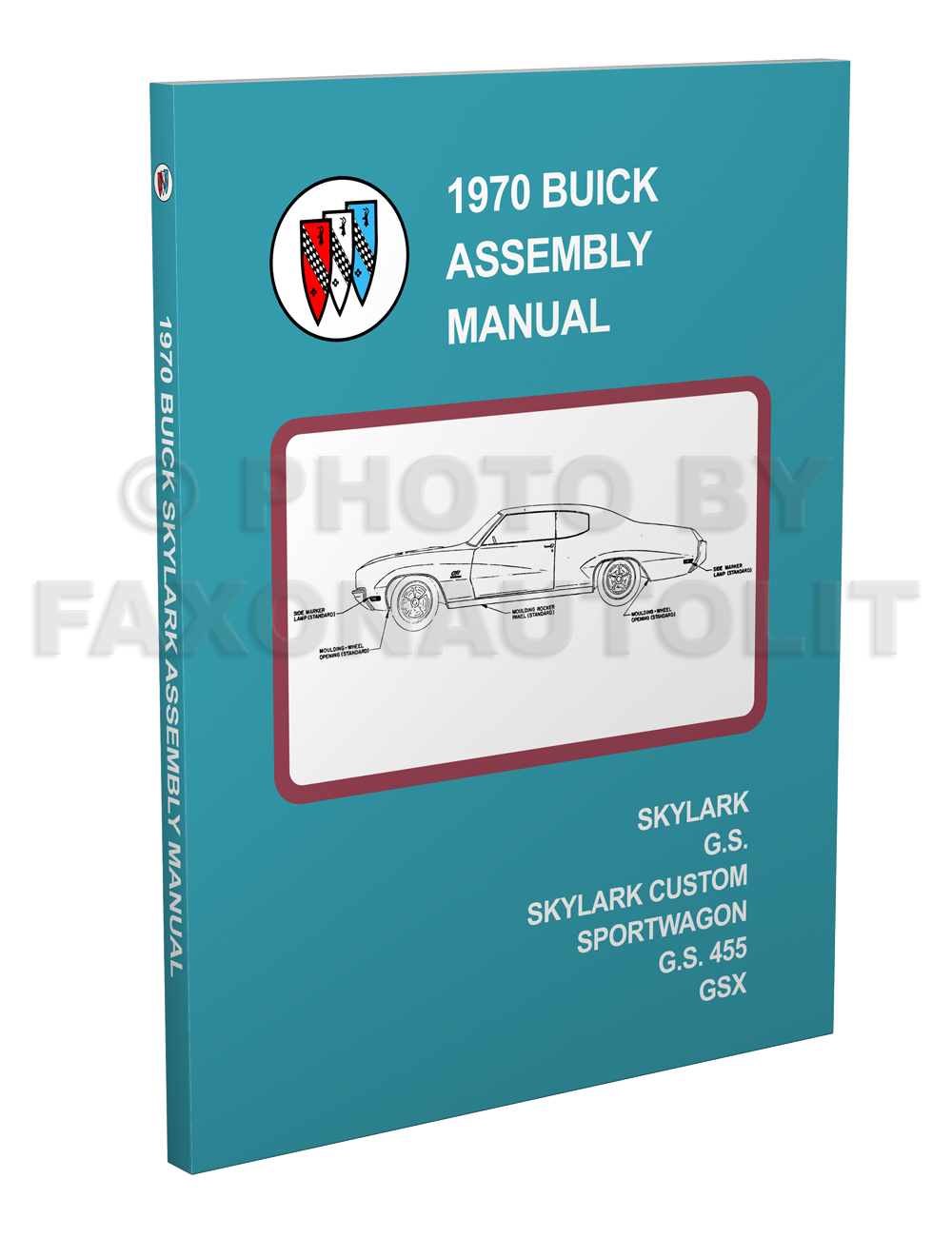 1970 Buick Skylark and GS Factory Assembly Manual Reprint