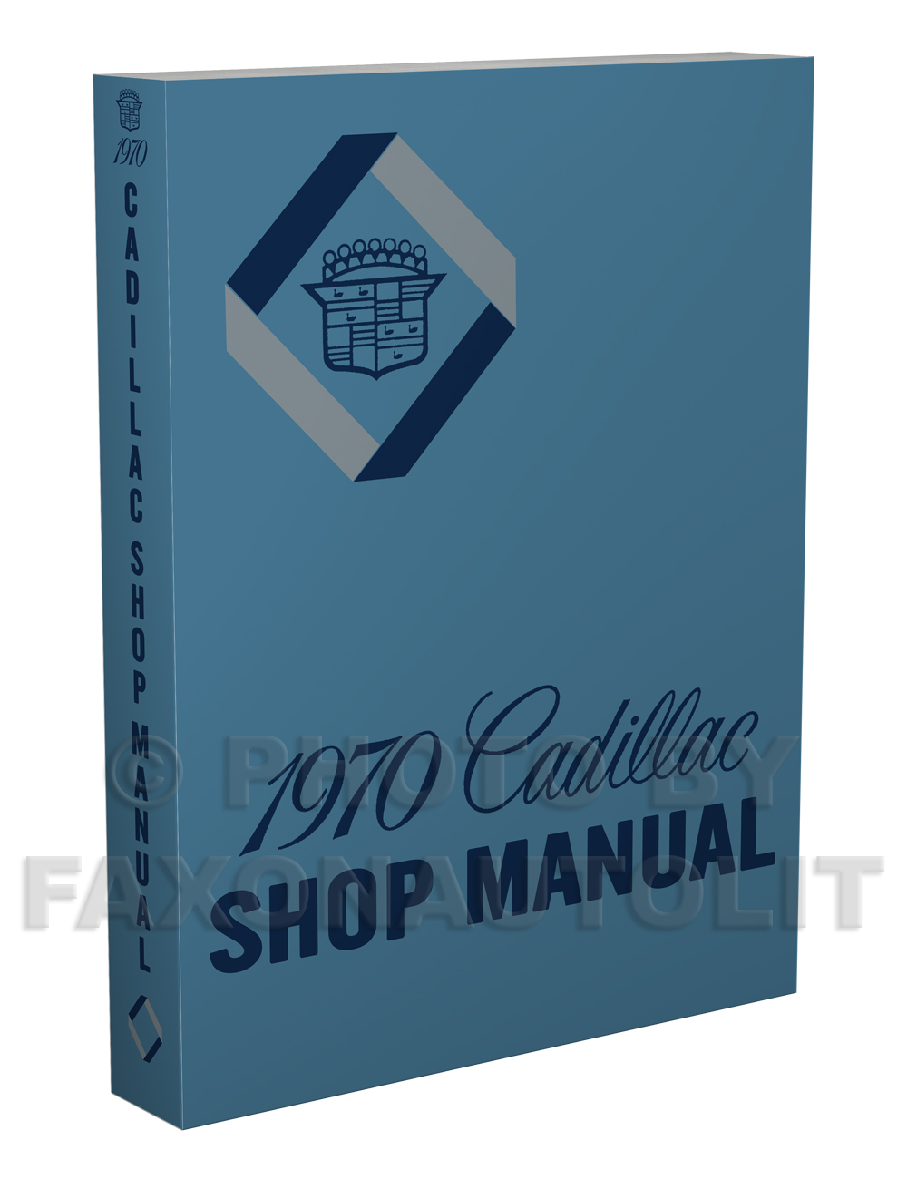 1970 Cadillac Repair Shop Manual Reprint