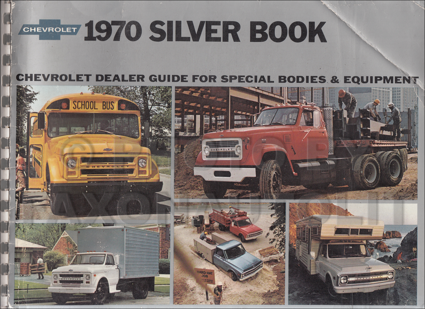 1970 Chevrolet Truck Silver Book Special Equipment Dealer Album