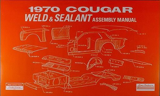 1970 ford mustang mercury cougar factory wiring diagram. Black Bedroom Furniture Sets. Home Design Ideas