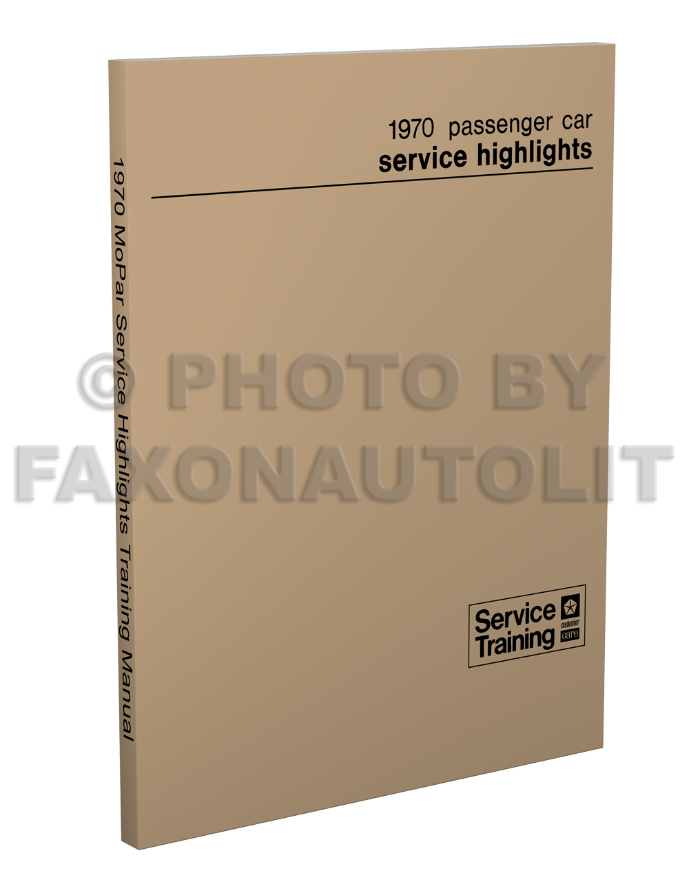 1970 Mopar Service Highlights Training Manual Reprint