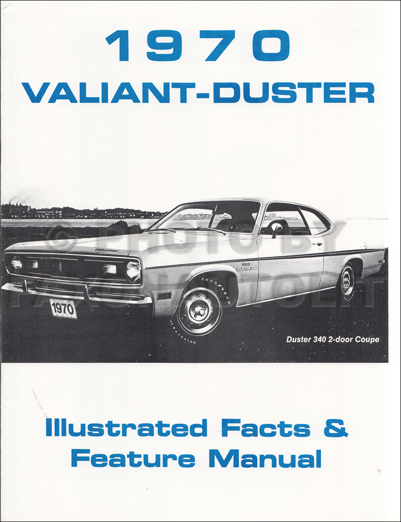 1970 Plymouth Duster Valiant Wiring Diagram Manual Reprint 1975 Related Products