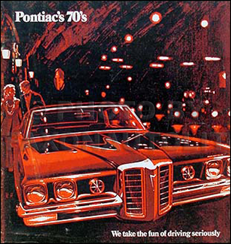 1970 Pontiac Original Sales Catalog -- All-Models