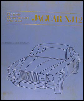 1971-1973 Jaguar XJ12 Repair Manual Original