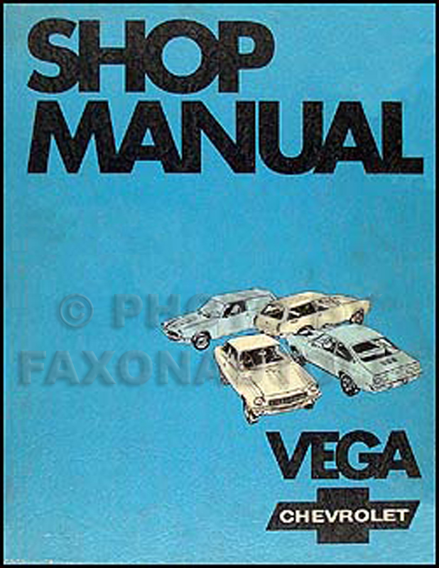 1971 Chevy Vega Body Repair Shop Manual Original