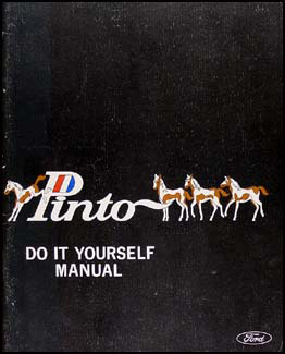 1971 Ford Pinto Do-It-Yourself  Manual Original