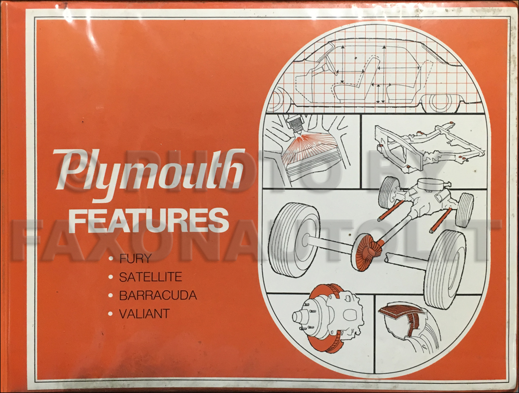 1971 Plymouth Data Book Original