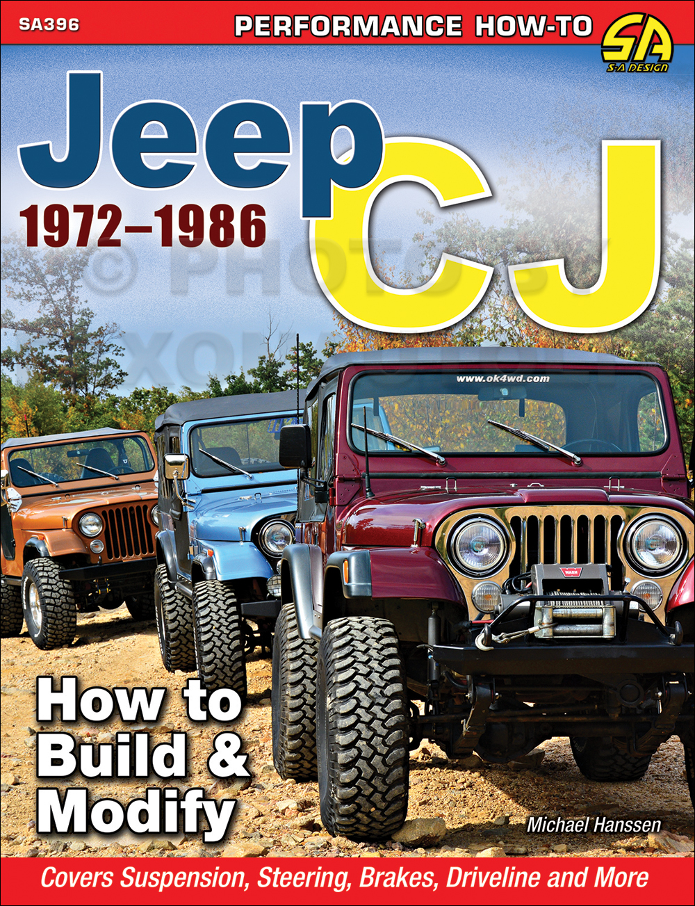 1972-1986 How to Build and Modify Jeep CJ for Performace or Off Road