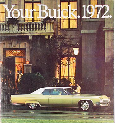1972 Buick Original Sales Catalog