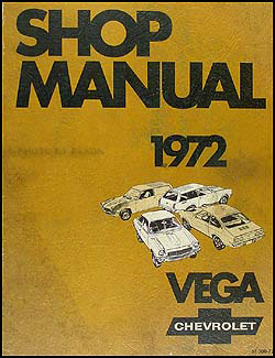 1972 Chevy Vega Repair Manual Original