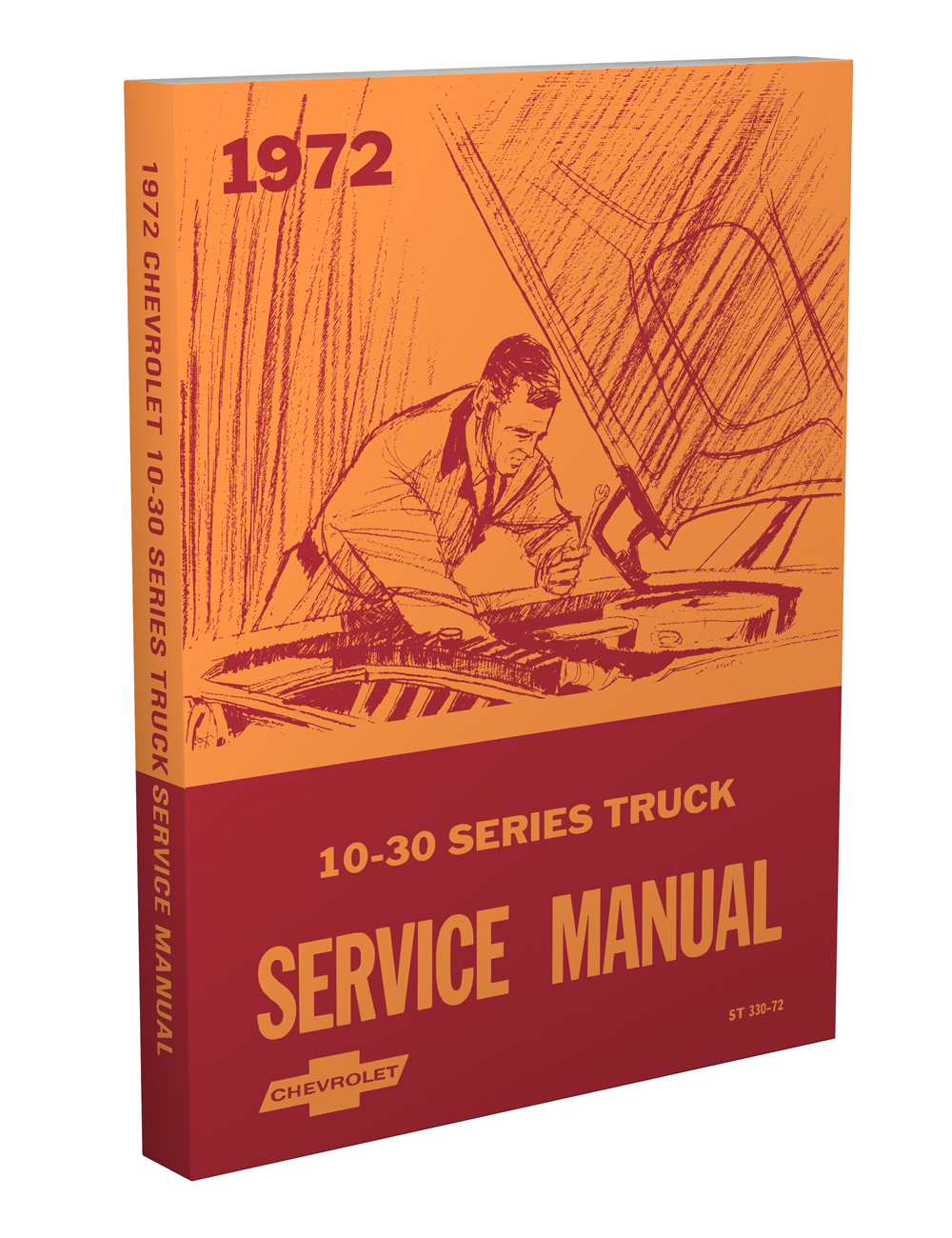 1972 Chevrolet Truck Repair Shop Manual Reprint Chevy Pickup Suburban Blazer