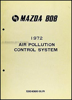 1972 Mazda 808 Air Pollution Control System Original