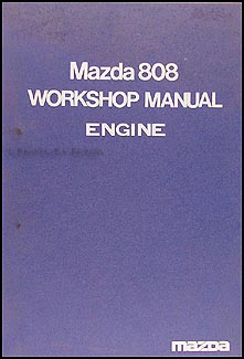 1972-1974 Mazda 808 Engine Repair Manual Original