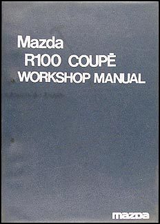 1970-1972 Mazda R100 Coupe Repair Manual Original