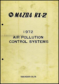 1972 Mazda RX-2 Air Pollution Control System Original