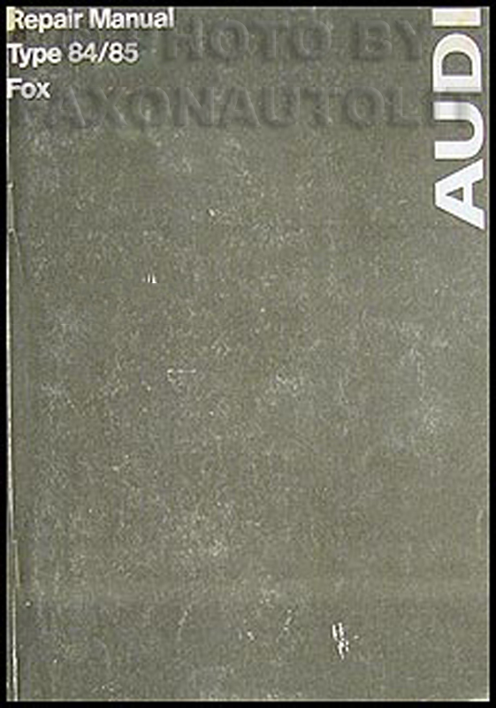 1973-1974 Audi Fox Repair Manual Original