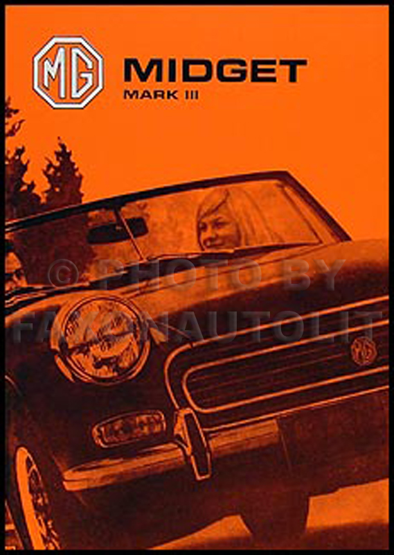 1973-1974 MG Midget Owner's Manual Reprint