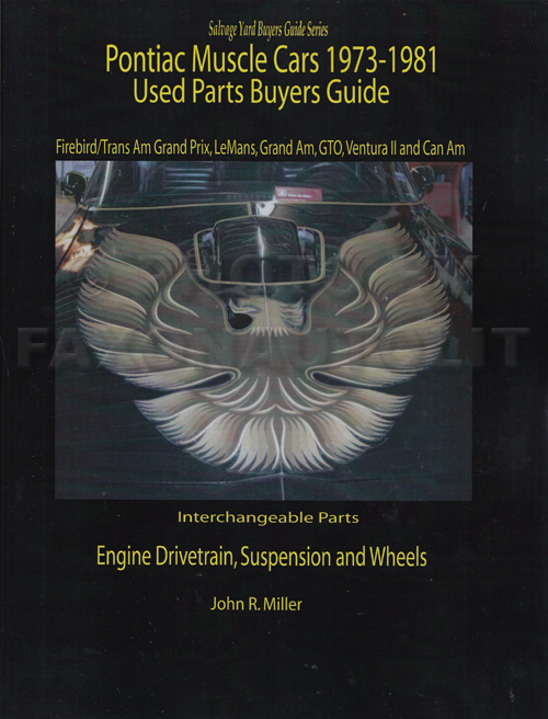 1973-1981 Pontiac Mechanical Parts Interchange Manual