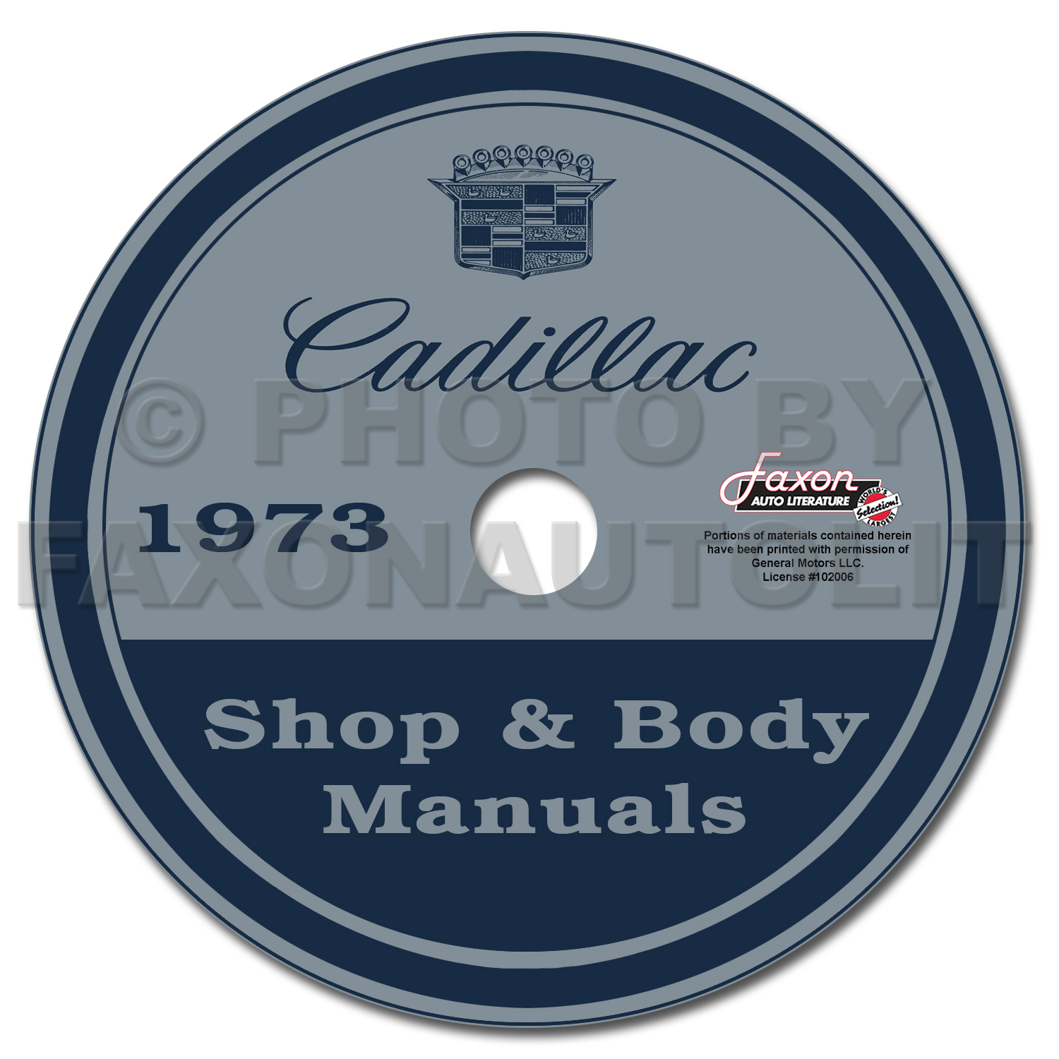 1973 Cadillac Shop Manual & Body Manual on CD-ROM