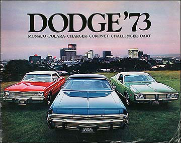 1973 Dodge Car Original Sales Catalog