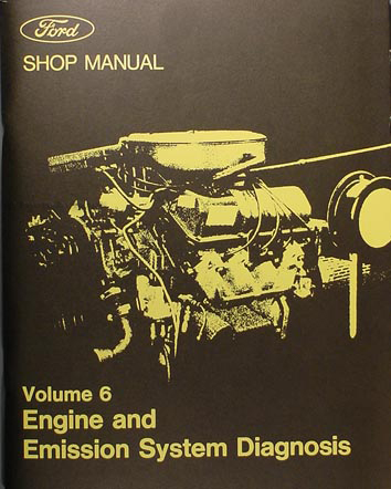 1973 Ford/Lincoln/Mercury Engine Emission System Diagnosis Repair Shop Manual