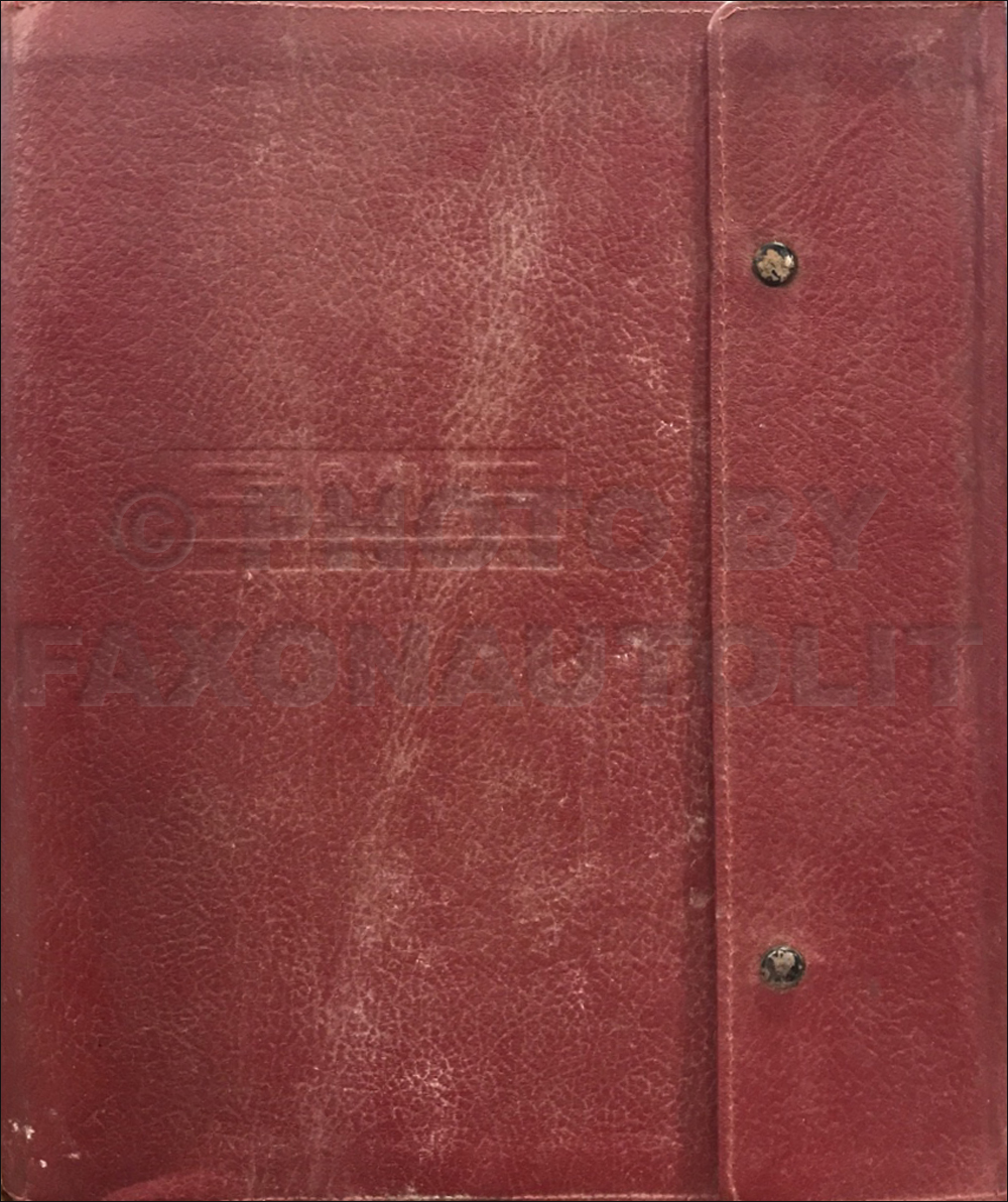 1973 GMC Data Book Original Dealer Album