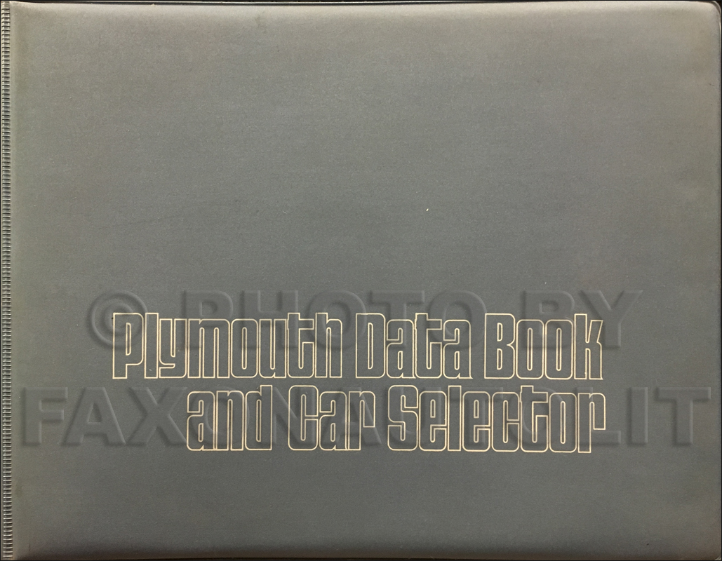 1973 Dart Duster Valiant Scamp Wiring Diagram Manual Reprint Cuda Plymouth Data Book Original 14900