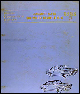 1974-1976 Jaguar XJ12 and Daimler Double Six Repair Manual Original