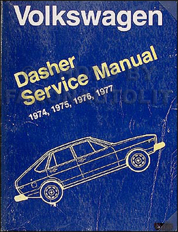 1975-1977 VW Dasher Shop Manual