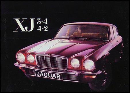 1974-1979 Jaguar XJ6 4 door Owner's Manual Reprint Right Hand Drive