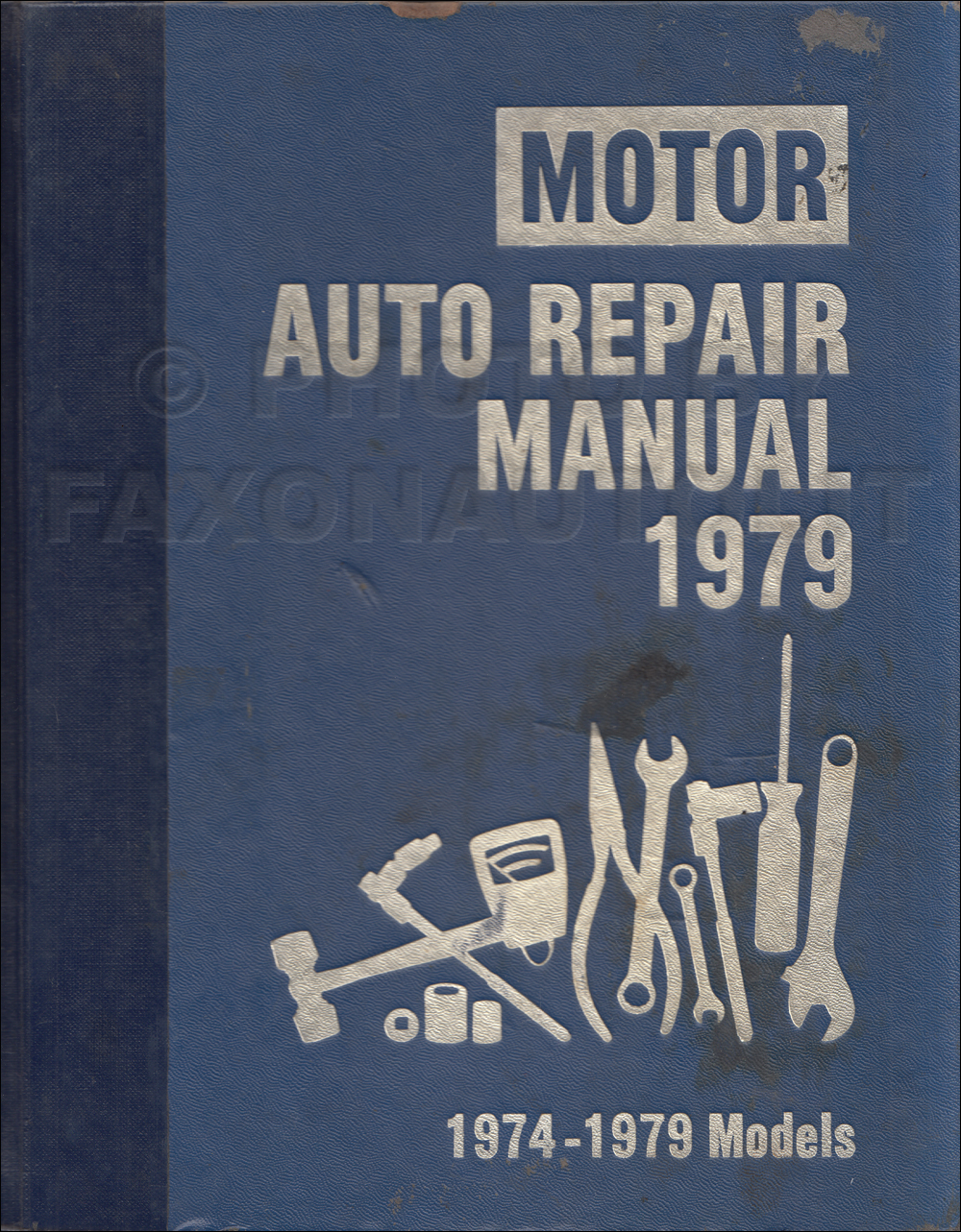 1974-1979 Motors Shop Manual US Cars 42nd Edition