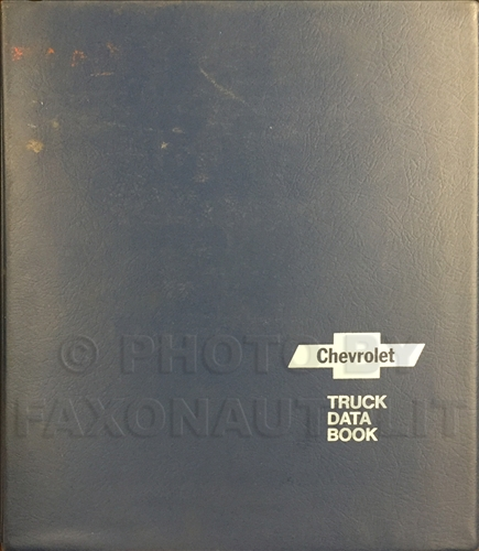 1974 Chevrolet Truck Data Book Dealer Album Original Light, Medium, and Heavy Trucks