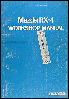 1974-1975 Mazda RX-4 Repair Manual Original