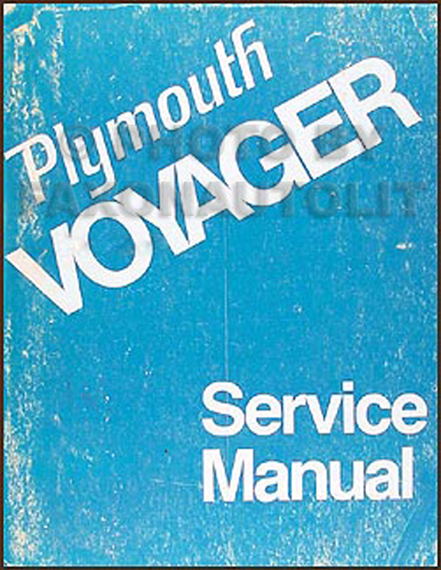 1974 Plymouth Voyager Van Repair Manual Original