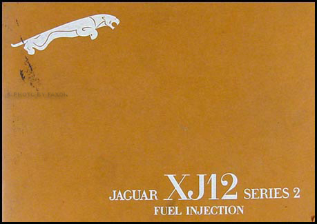 1975-1976 Jaguar XJ12 Owner's Manual Original