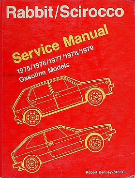 1975-1979 VW Rabbit & Scirocco Shop Manual