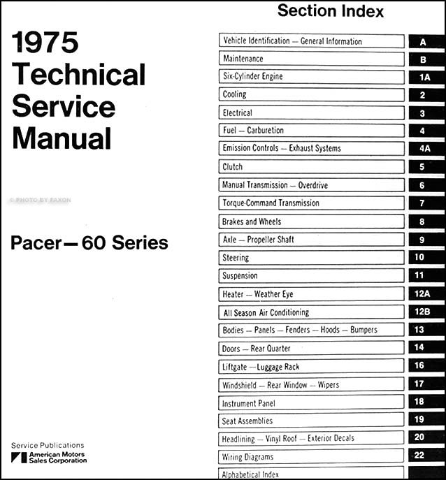 amc pacer wiring diagram modern design of wiring diagram • 1975 amc pacer repair shop manual original rh faxonautoliterature com 1970 amc javelin wiring diagram 1971 amc javelin wiring diagram