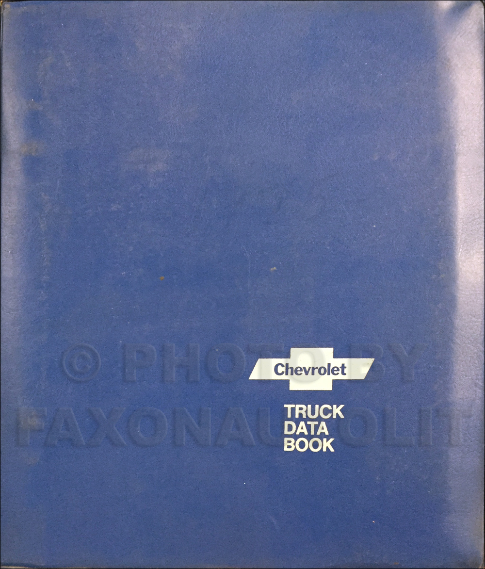 1975 Chevrolet Truck Data Book Dealer Album Original Light, Medium, and Heavy Trucks