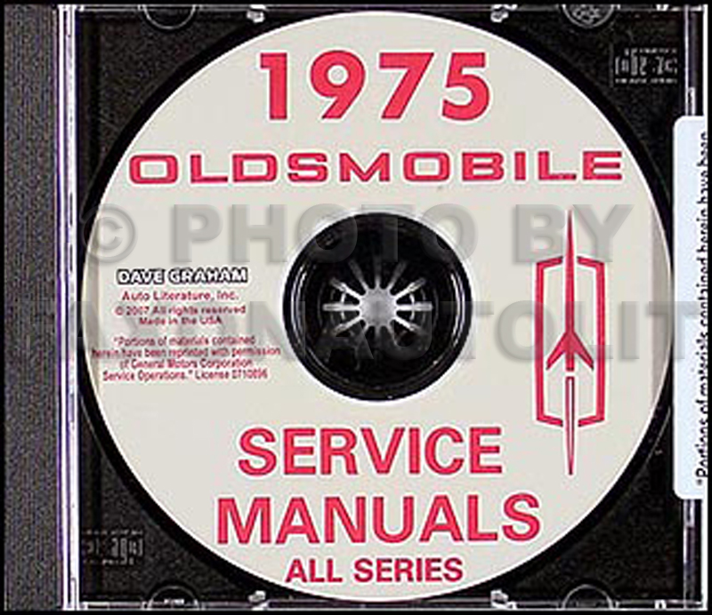 1975 Oldsmobile CD-ROM Shop Manual