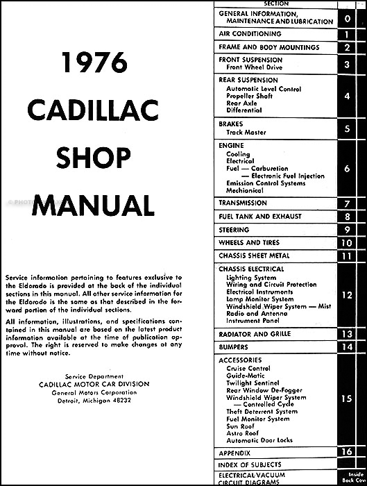 Cadillacorm Toc on 1946 Cadillac Wiring Diagram