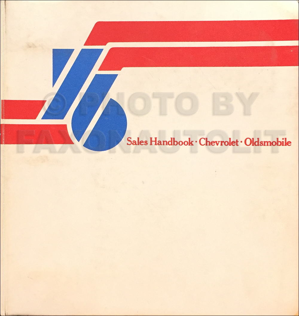 1976 Oldsmobile Chevrolet Color & Upholstery Dealer Album/Data Book Original CANADIAN