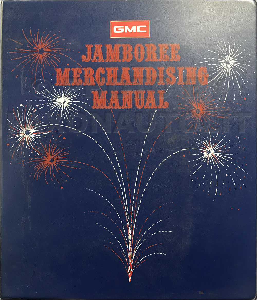 1976 GMC Jamboree Dealer Advertising Planner Original