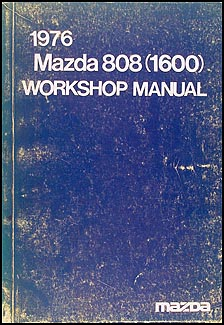1976 Mazda 808 (1600) Repair Manual Original