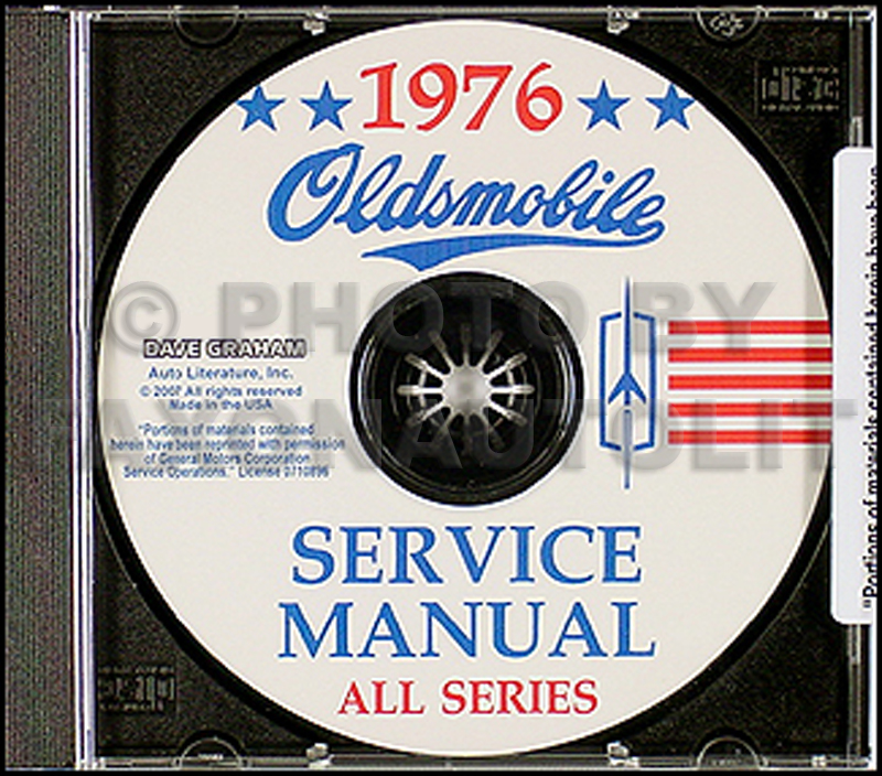 1976 Oldsmobile CD-ROM Shop Manual