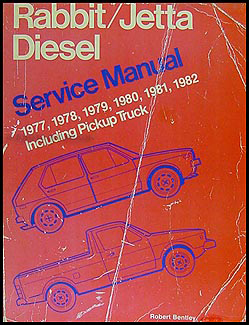 1977-1982 VW Rabbit, Jetta Bentley Repair Manual