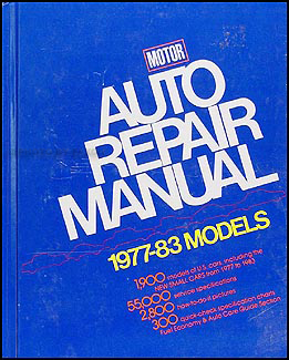 1977-1983 Motors US Auto Repair Manual