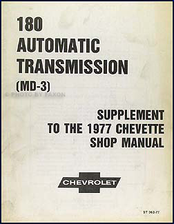 1977 Chevette 3 speed Automatic Transmission Repair Manual Original