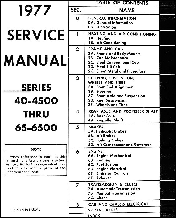 1977 chevrolet medium duty truck repair shop manual original 1977 chevy  truck ignition wiring diagram 1977 chevy truck wiring diagram